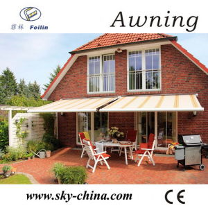 Outdoor Full Cassette Retractable Awning (B4100) pictures & photos