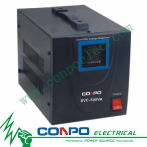 SVC-500va/1000va/1500va/2000va/3000va/5000va/8000va/10000va Servo-Type Automatic Voltage Regulator/Stabilizer pictures & photos