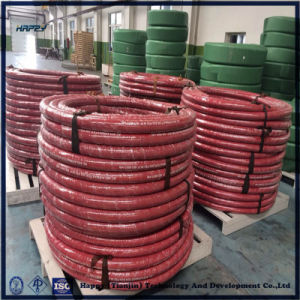Heat Resistant Fabric or Wire Braid Rubber Steam Hose pictures & photos