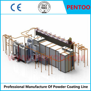 High Performance Powder Coating Line for Wooden Articles/Furnitures pictures & photos