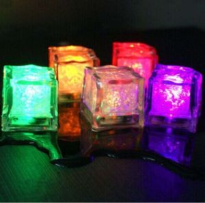 Party Flashing LED Ice Cubes with Logo Printed (3188) pictures & photos