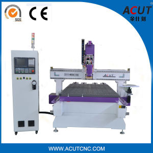 Atc CNC Router with 16bits/Acut-2513 Round Atc Woodworking Machinery pictures & photos