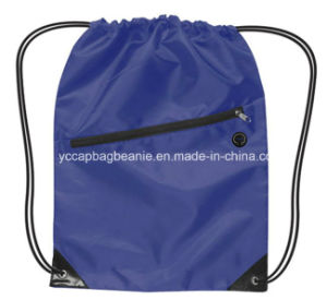 Promotional Blank Waterproof Drawstring Bag pictures & photos