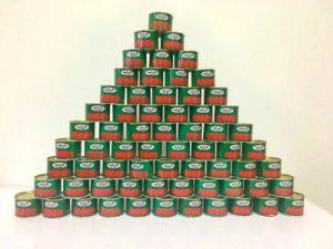 70g*50 28%-30% Tomato Paste 100%