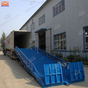 10t Forklift Container Loading Dock Ramp pictures & photos