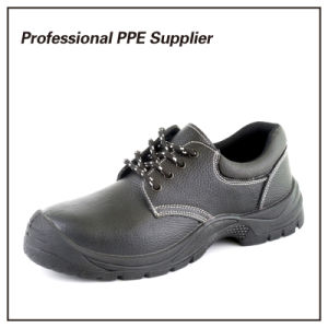 Bafflo Leather Wide Steel Toe Work Shoe pictures & photos