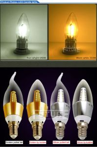 CE & RoHS Approved 3W Candle Lamp/LED Home Lighting pictures & photos