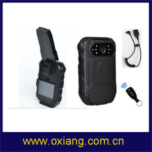 1080P Police DVR 2′′ Police Body Worn Camera Support External Camera and Remote Controller pictures & photos