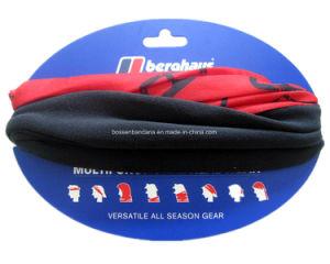 China Supplier OEM Produce Custom Black Logo Printed Red Polar Fleece Winter Neck Tubular Warmer pictures & photos