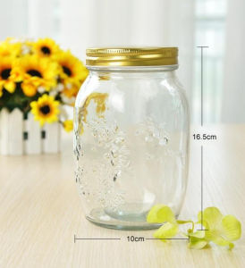 1000ml Empry Glass Jar/ Food Container/ Glass Bottle pictures & photos