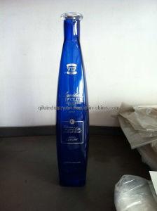 Blue Premium Vodka Glass Bottle