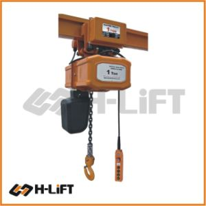 Electric Chain Hoist With Motorized Trolley