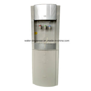 Pou/Pipeline Water Dispenser with Two Filter Housing 3 Faucets pictures & photos