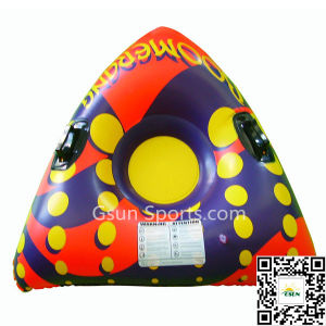 PVC Inflatable Snow Tubes Ski Sled Winter Sport Toy