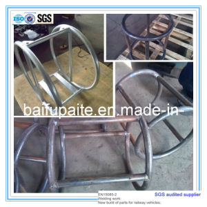 Galvanized Steel Pipe Pump Support pictures & photos