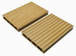 150*25mm Factory Price Wood Plastic Composite Decking, Engineered Floor pictures & photos