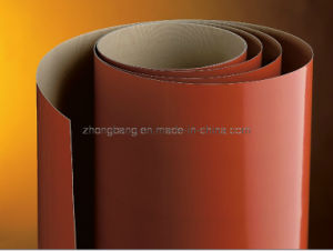 Rust Red Colour PTFE Coated Fiberglass Cloth pictures & photos