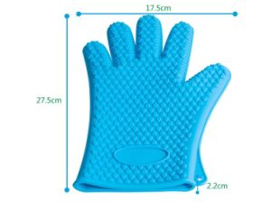 Silicone Hot Kitchen Pot Holder Glove Oven Mit (EB-93256-9) pictures & photos