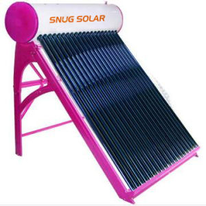 High Efficiency Portable Vacuum Tube Solar Water Heater pictures & photos