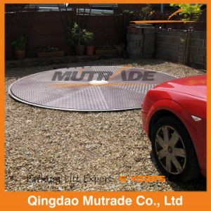 Galvanized Motor Type Car Turntable pictures & photos