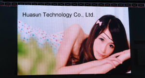 Flexible Water Proof Stable Full Color LED Video Display pictures & photos