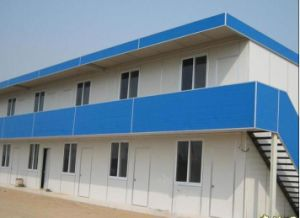 Whit EPS Sandwich Panels for Prefab House pictures & photos