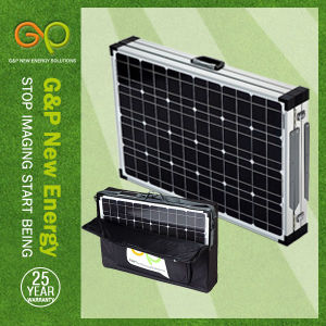 140wp Folding Panel Monocrystalline, Portable Panel with MPPT or Pmw Controller pictures & photos