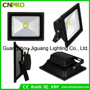 LED Floodlight with 10-50W White Color Waterproof Outdoor AC85-265V pictures & photos