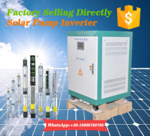 Solar Pump 380V Inverter for Deep Well Pump with AC 380-460V Input pictures & photos
