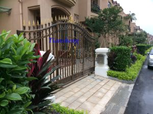 Beautiful Antique Wrought Iron Gate pictures & photos
