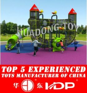Child Fitness Equipment Playing Slide and Climbing Tunnel for Kids pictures & photos