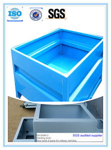 High Quality Powder Coating Metal Container Stock Box pictures & photos