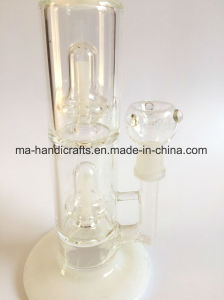 15 Inch Milky White Glass Smoking Water Pipe/Scientific Pipes/Water pipe pictures & photos