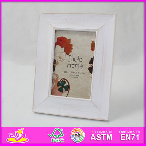 2015 Hot Sale New High Quality (W09A030) En71 Light Classic Fashion Picture Photo Frames, Photo Picture Art Frame, Wooden Gift Home Decortion Frame pictures & photos