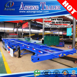20/40ft Skeleton Truck Semi Trailer Container Chassis for Sale pictures & photos