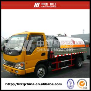 4000L Carbon Steel Mobile Refuelling Tank Truck for Light Diesel Oil Delivery pictures & photos