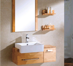 Bathroom Basin with with Mirror for Wood Bathroom Cabinets pictures & photos