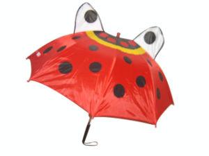 Animal Shape Ladybug Children Umbrella (CU002) pictures & photos