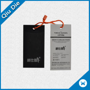 Garment Label Tag with Silver Hot Stamping & Printing pictures & photos
