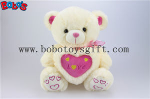 "12""/16""/20""/26""/31"" Manufacturer Boys Toy Beige Teddy Bears with Love Heart Pillow pictures & photos"