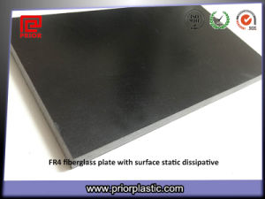 Black Fr4 Sheet Two Sides Antistatic pictures & photos