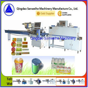 Shrink Packaging Machine for Group Bottles pictures & photos