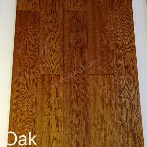 Wood Flooring Solid Oak Hardwood Flooring with Wheat Color