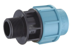 Male Adaptor PP Compression Fitting for Irrigation pictures & photos