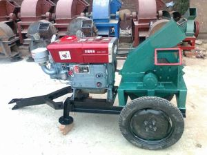 High Capacity Mobile Wood Chipper with Diesel Engine pictures & photos