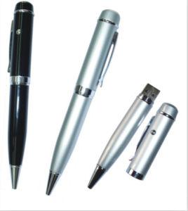 Pen Shape USB Flash Drive Metal USB Stick pictures & photos