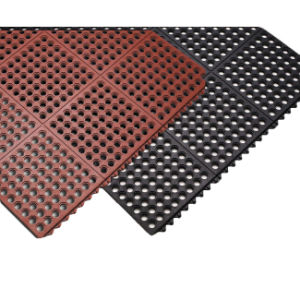 Interlocking Colorful Soft Rubber Industrial Flooring Mat pictures & photos