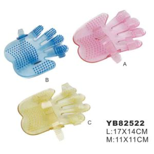 Petggrooming Brush, Hand Gloves (YB82522) pictures & photos