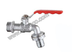 Zinc Bibcock Water Tap Faucets with Male Thread pictures & photos