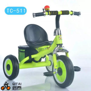 China Factory Wholesale Steel Frame Children Tricycle with EVA Wheels pictures & photos